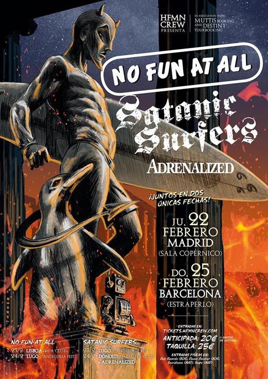 Satanic Surfers Gira