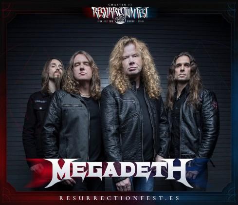 Megadeth Resurrection 2018