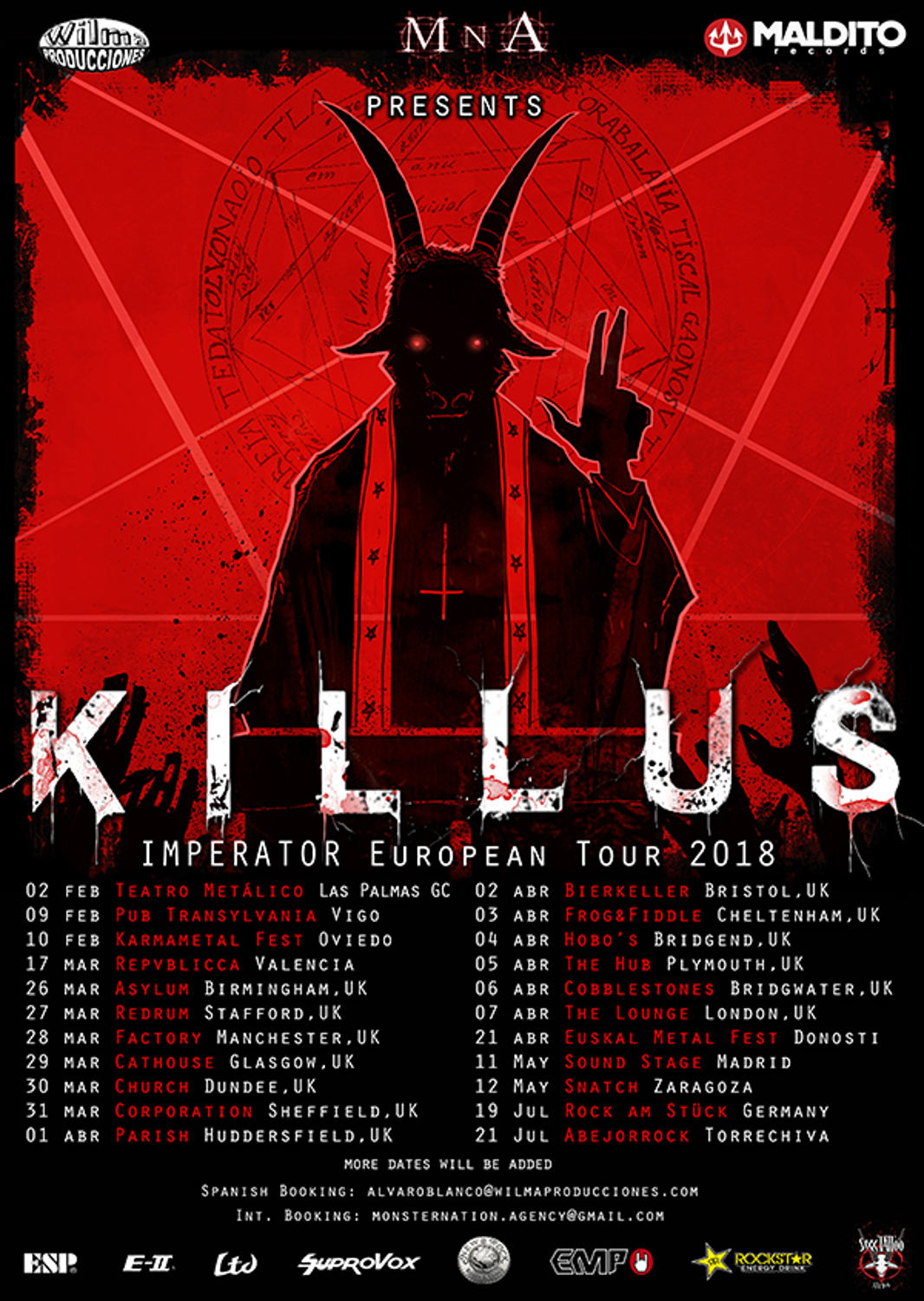 KILLUS_tour 2018