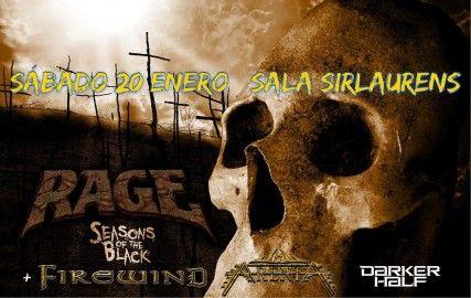 Rage Firewind Darker Half Arenia Oviedo