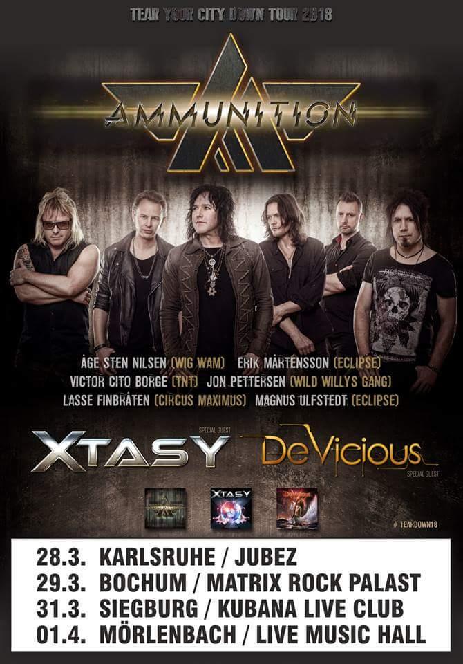 Xtasy - German Tour