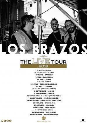 Los Brazos - 2018 Live Tour Poster