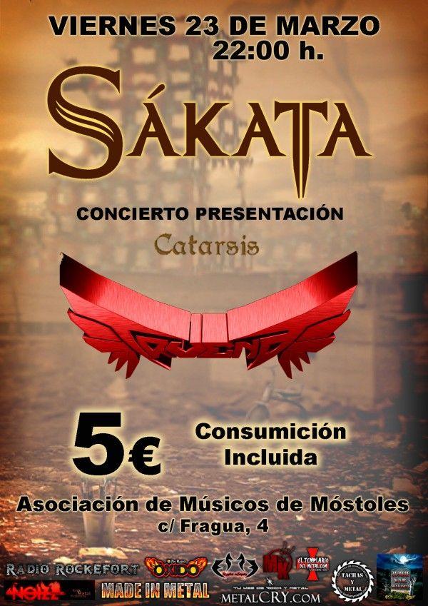 cartel concierto presentacion