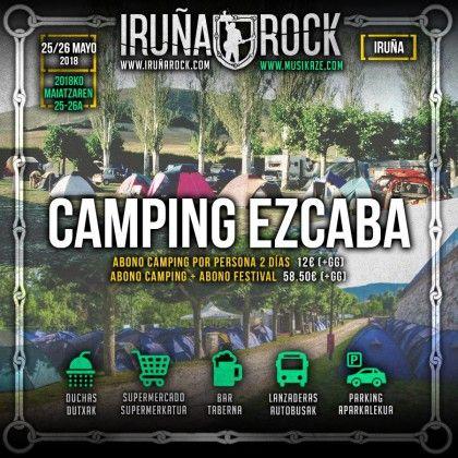 Iruñarock camping 2018