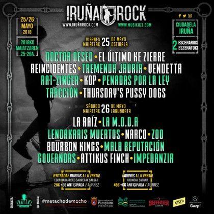 Iruñarock 2018