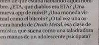 ETA Death Metal - cita
