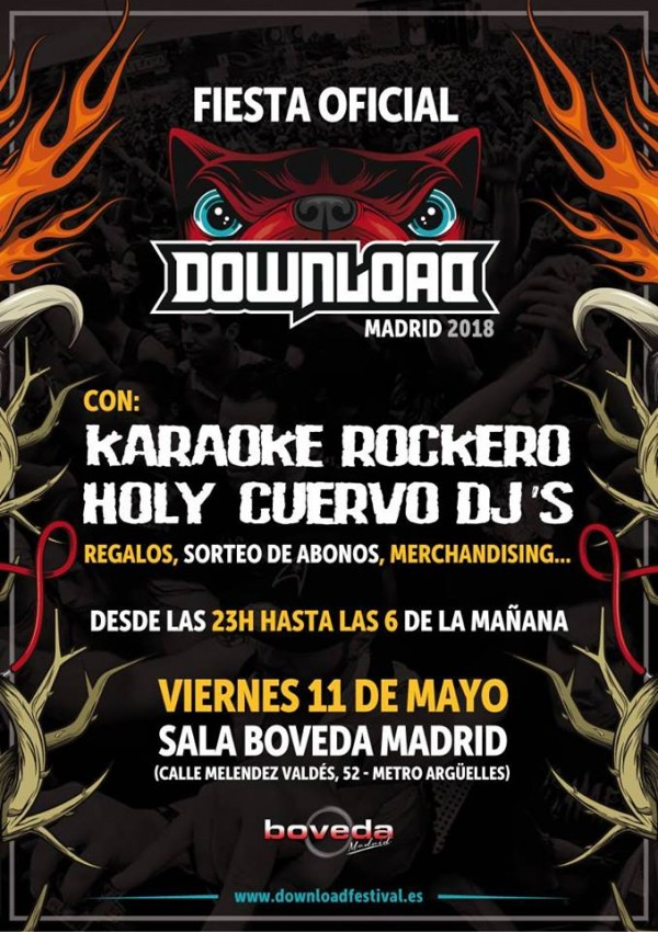 Cartel Fiesta Download 11 mayo 2018