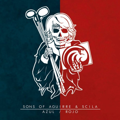 SONS OF AGUIRRE & SCILA – AZUL/ROJO