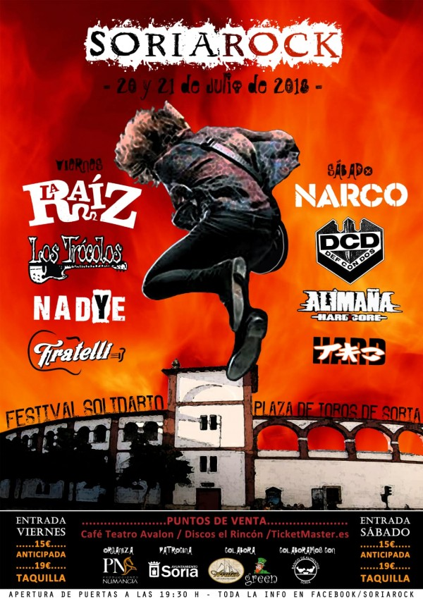 Cartel Soria Rock