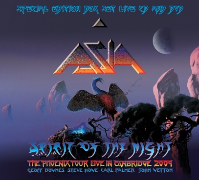ASIA – SPIRIT OF THE NIGHT (LIVE IN CAMBRIDGE 09)