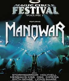MANOWAR – MAGIC CIRCLE FESTIVAL VOLUME 1 DVD