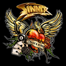 SINNER – CRASH 'N BURN
