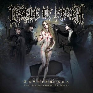 CRADLE OF FILTH – CRYPTORIANA-THE SEDUCTIVENESS OF DECAY.