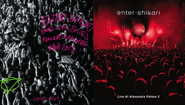 ENTER SHIKARI – Live at Alexandra Palace 2+Take To The Skies: Live In Moscow