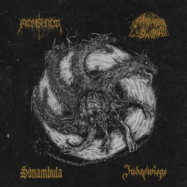Judaswiege / Moribundo / Sönambula / Barbarian Swords – Tetrarchia Ex Bestia (Split)