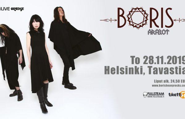 BORIS + ÅRABROT – Sala Tavastia, Helsinki – 26/11/2019