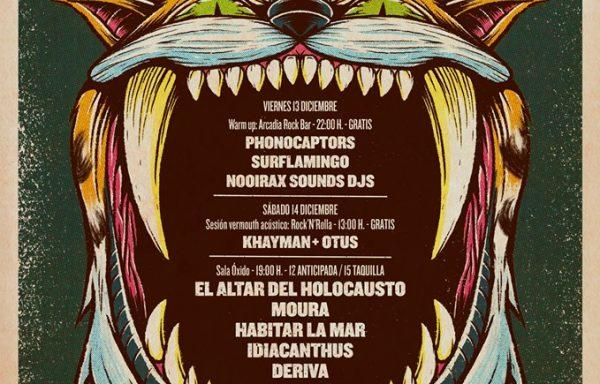 NOOIRAX SOUNDS FEST 2019 - Sala Óxido, Guadalajara - 14/12/2019