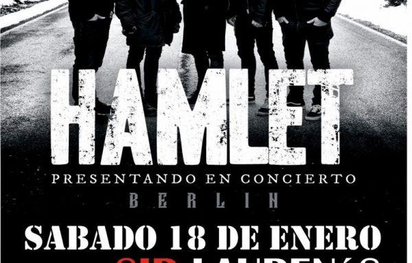 Furia irracional para una noche de invierno: HAMLET – Sala Sir Lauren's (Oviedo) – 18/01/2020