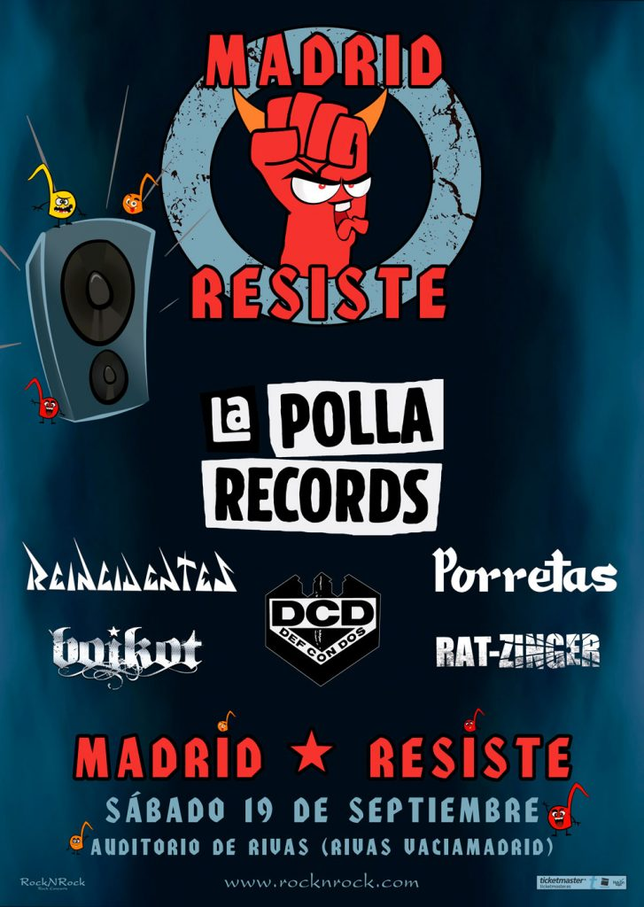 ROCK FEST 2020 CANCELADO KISS, LYNYRD, JUDAS, UFO, A.Amarth,Nightwish - Página 15 Madrid-Resiste-727x1024