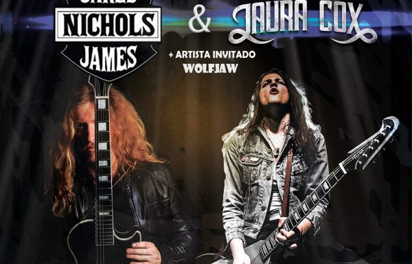 Hardblues de altos vuelos en Valencia. JARED JAMES NICHOLS + LAURA COX + WOLF JAW - Sala Rock City, Almássera (Valencia) 7-3-2020.