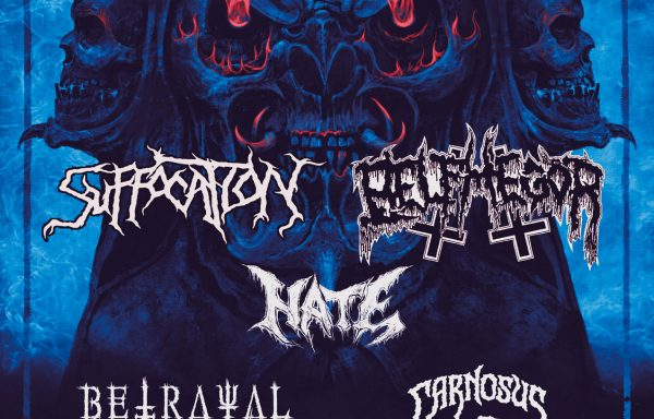 SUFFOCATION + BELPHEGOR + HATE – SALA ÄÄNIWALLI, HELSINKI – 22/02/2020