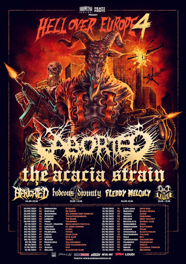 ABORTED & HIDEOUS DIVINITY – Anuncian Hell Over Europe Tour 2021 –  Metalcry.com :: Tu Web de Rock y Metal